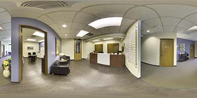 Interactive Panoramic Virtual Tour of Bellefield Office Park Bellevue office space available now in Bellevue