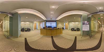 Interactive Panoramic Virtual Tour of Key Center Bellevue office space available now - Great Views in Bellevue