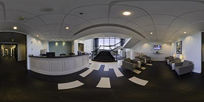Interactive Panoramic Virtual Tour of Bellevue Skyline Tower Bellevue office space available- zip 98004 in Bellevue