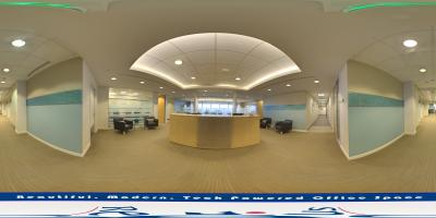 Interactive Panoramic Virtual Tour of Dramatic One Market Street San Francisco office space available in San Francisco