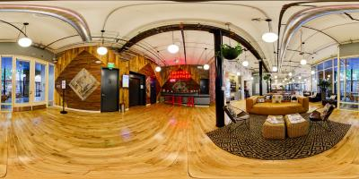 Interactive Panoramic Virtual Tour of Seattle Office Space - Modern Coworking Space with Historic Charm in Seattle