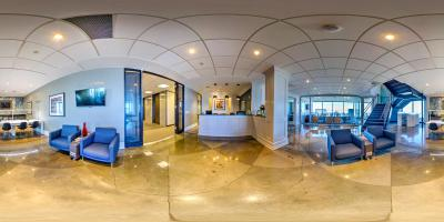 Interactive Panoramic Virtual Tour of Ideally Located Bank of America Plaza Seattle office space in Seattle