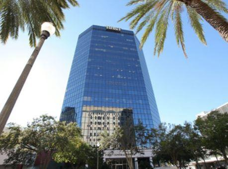 First Central Tower St. Petersburg office space available - zip 33701