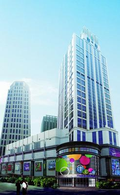 The Exchange Tower 2 is conveniently located in the heart of Tianjin.