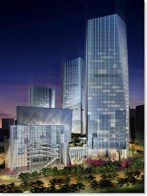 A world-class integrated Office development in Guangzhou