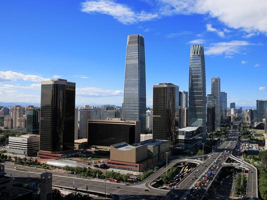 China World Office 2 is located in the heart of Beijing's CBD.