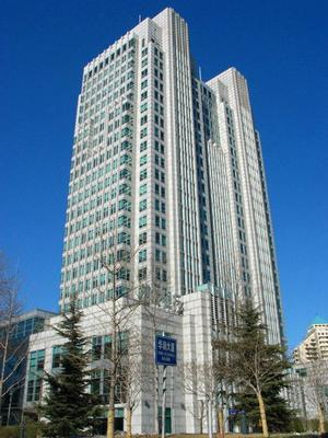 China Resources Building is located at the Jianguomen Business.