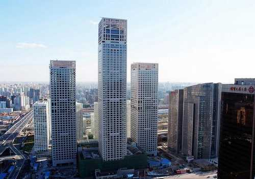 Beijing Yintai Centre is the newest and most sought after landmark.
