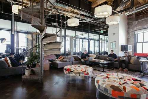 Arched Golden Gate Office Space in San Francisco