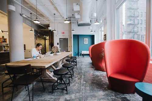 Well Lighted Fort Point Office Space in Boston