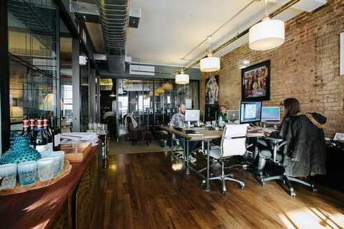 Sleek Meatpacking Office Space in New York