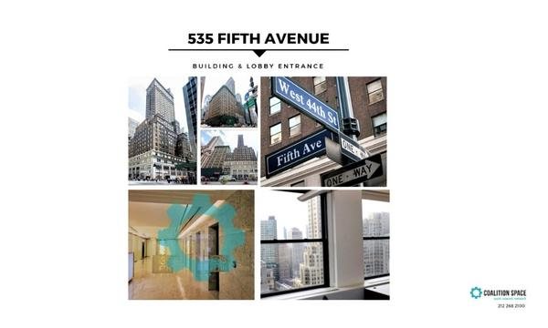 Private High Floor Windowed Offices on 5th Avenue and 44th Street