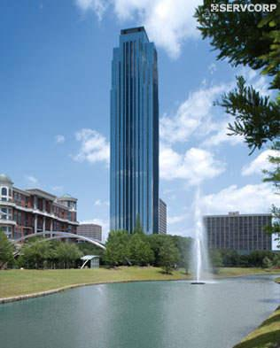 One of the Tallest Office Space in the Houston skyline