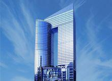 HNA Tower is located in the middle of Guangzhou CBD