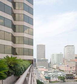 Downtown New Orleans Office Space with Views