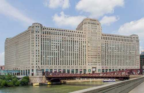 The Merchandise Mart Chicago office space available now - zip 60654