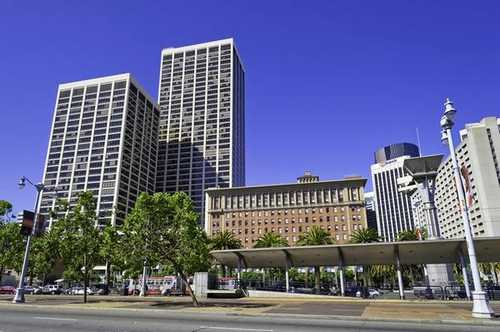 Dramatic One Market Street San Francisco office space available