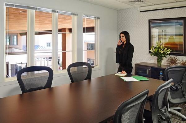 Washington Avenue Santa Fe office space available now - zip 87501