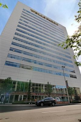 Wells Fargo Center Spokane office space available now - zip 99201