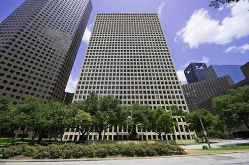 Two Allen Center Houston office space available now - zip 77002