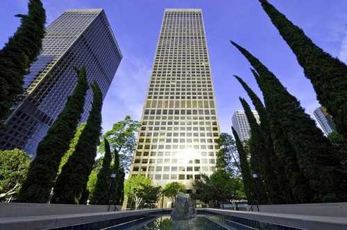 City National Plaza Los Angeles office space available now - zip 90071