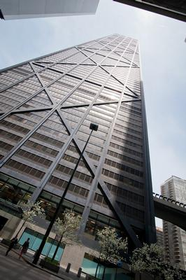 John Hancock Center Chicago office space available now - zip 60611