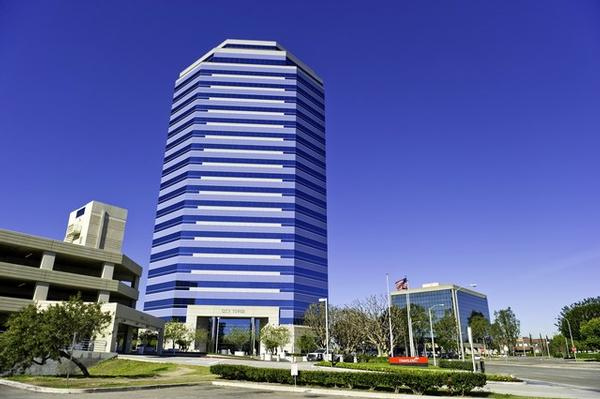 City Tower Orange office space available now - zip 92868
