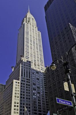 Chrysler Building New York office space available now - zip 10174