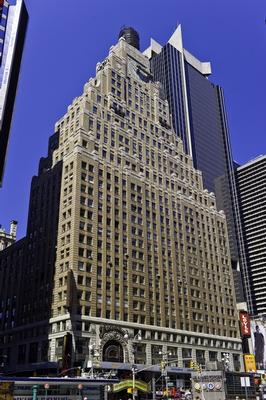 Broadway Times Square New York office space available - zip 10036