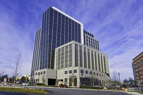 Cap Trust Tower Raleigh office space available now - zip 27609