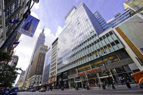 112 W. 34th New York office space available now - zip 10120