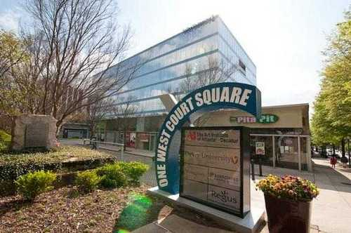 One West Court Square Decaturoffice space available now - zip 30030