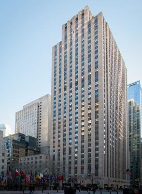 One Rockefeller Plaza New York office space available - zip 10020
