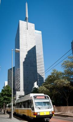 Downtown Republic Center Dallas office space available - zip 75201