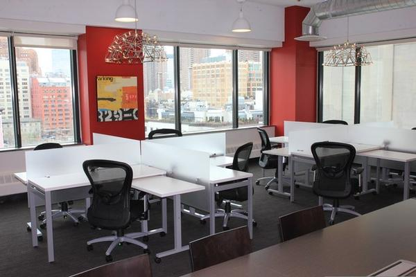 SoHo - Hudson Square New York office space available  - zip 10013