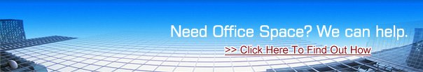 Need Office Space?  We can help.