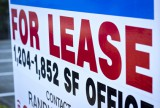 For Lease office space sign