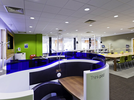 Office space to recruit employees
